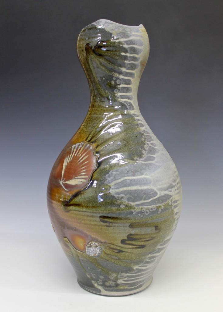 Woodfired Pottery Bottle