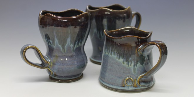 Blue Coffee Mugs