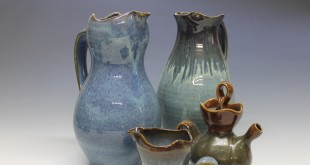 Blue Ceramic Pitchers