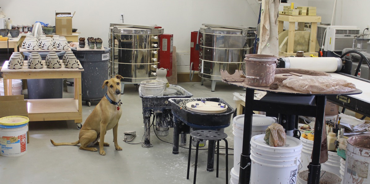 Our Pottery Studio Todd Pletcher Pottery